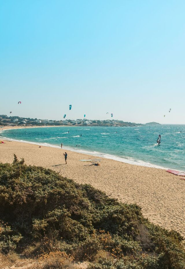 You'll find water sport options on many of Naxos' standout beaches