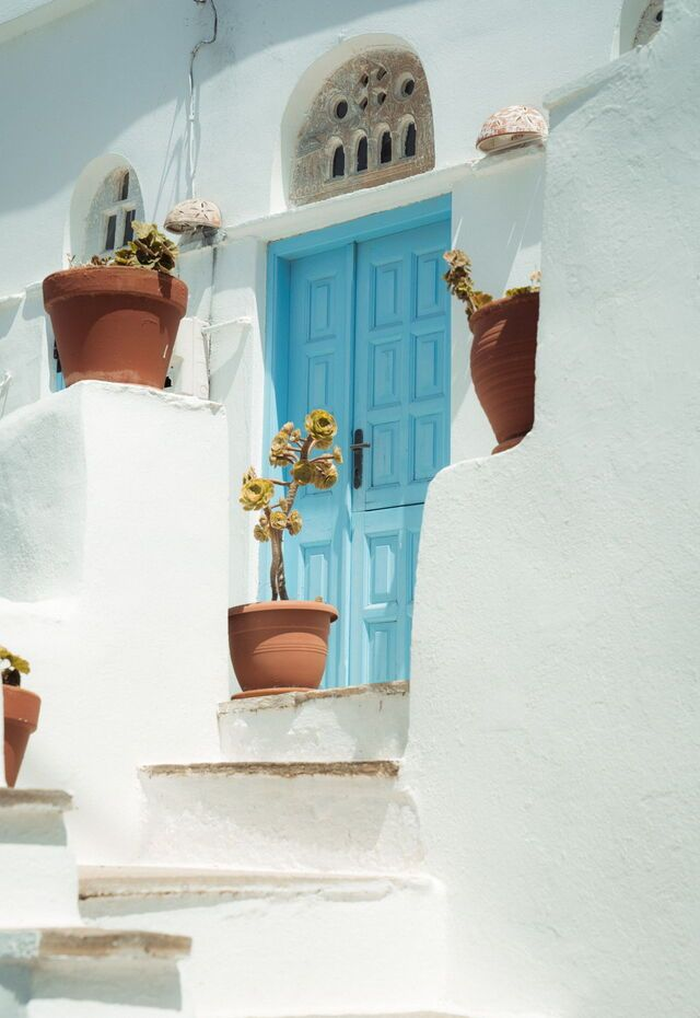 Volax village on Tinos island