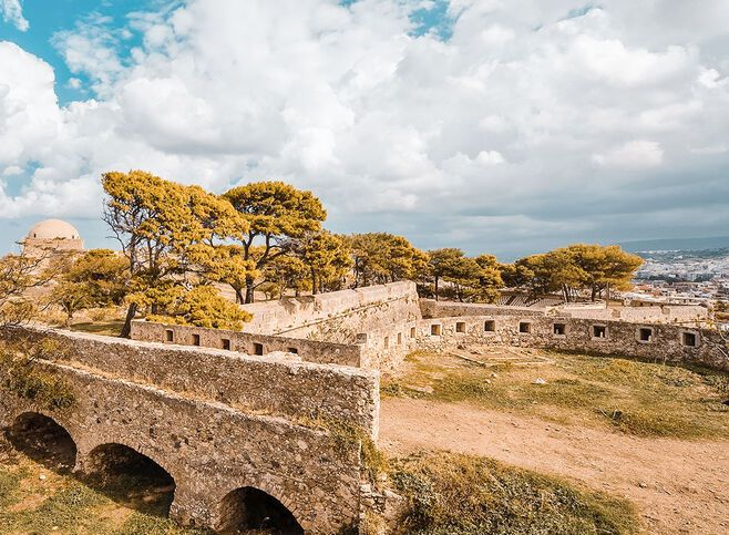 Old fortezza in Rethymno