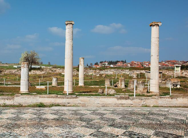 Ancient Pella had been the capital of the Macedonian state since the early 4th century