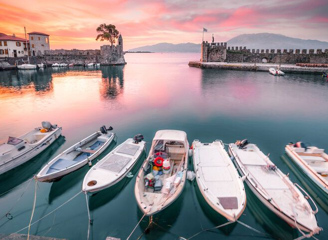 The enchanting citadel of Nafpaktos