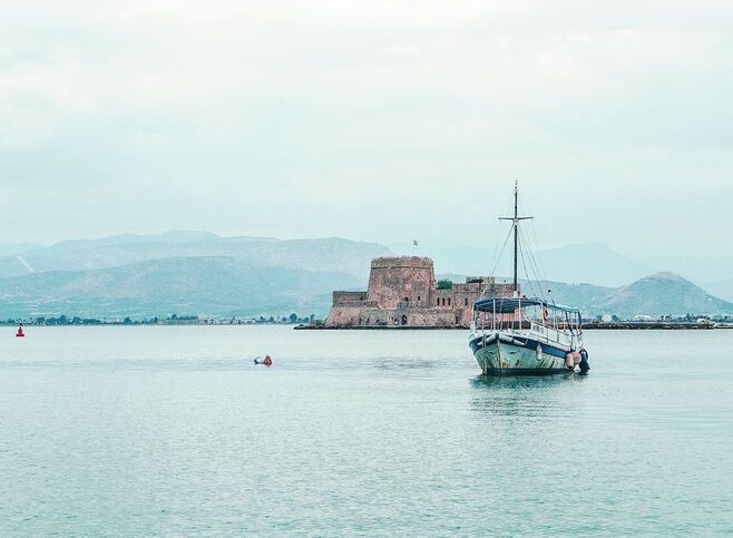 Bourtzi Castle Nafplio's sea tower_edit