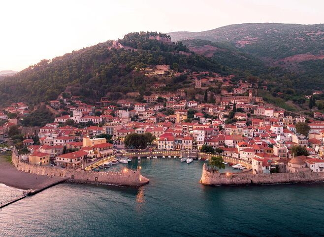 The Venetian harbour, amongst the most beautiful and picturesque harbours of the country