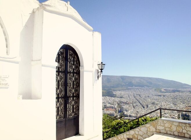Lycabettus church