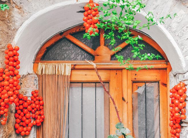 In the Medieval villages of Chios, you'll find beauty in the details