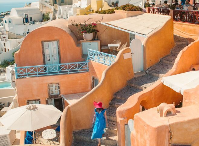 Sugar-cubed houses, blue-domed churches, bell towers, windmills and cute little alleyways
