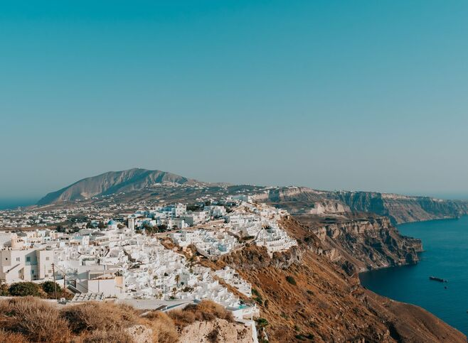 Who hasn't dreamed of visiting Santorini The iconic caldera and chic Cycladic aura are part of you even before you've arrived.