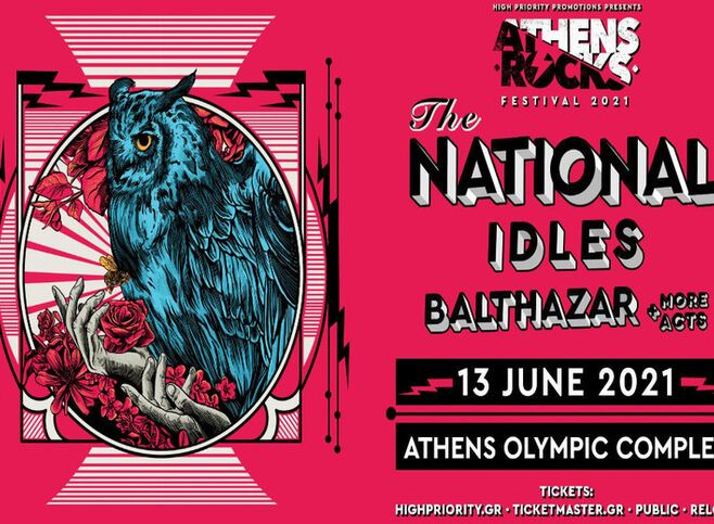 AthensRocks 2021: The National - Idles - Balthazar