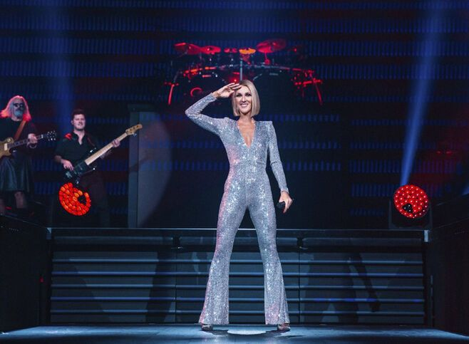 "Celine Dion ""Courage World Tour"""
