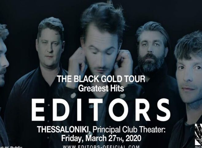 Editors στο Principal Club Theater