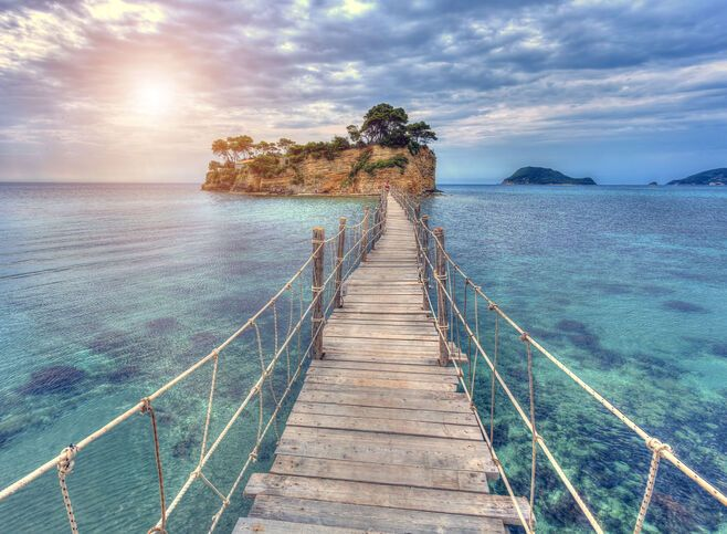 Holidays in Greece: Agios Sostis in Zakynthos island