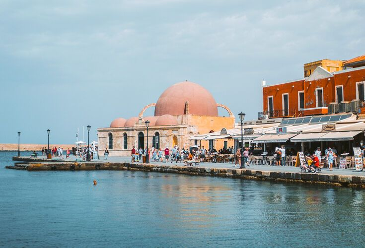 Venetian port of Chania