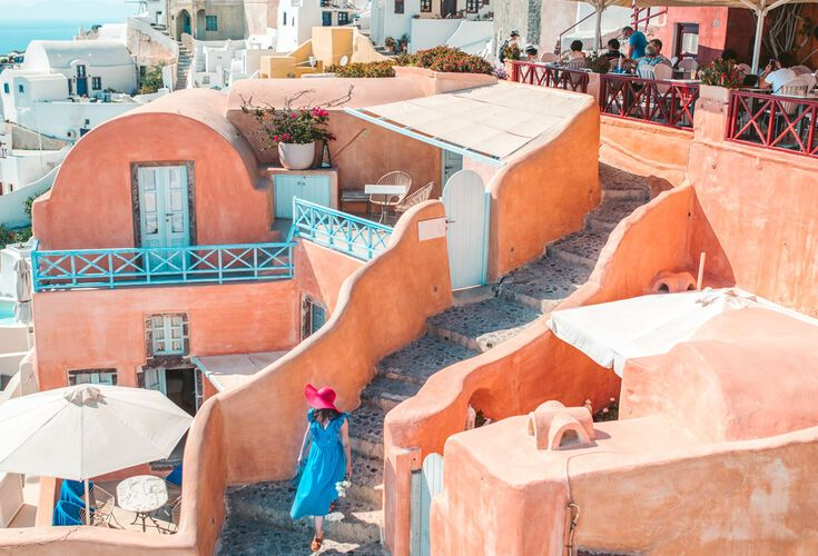 Santorini Holidays In Cyclades Discover Greece