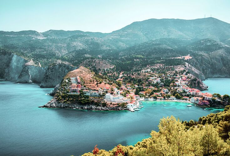 Assos village, offers romantic atmosphere as well as traditional character