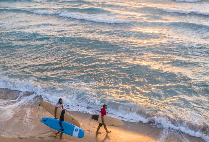 SUP experience at Falassarna beach during sunset