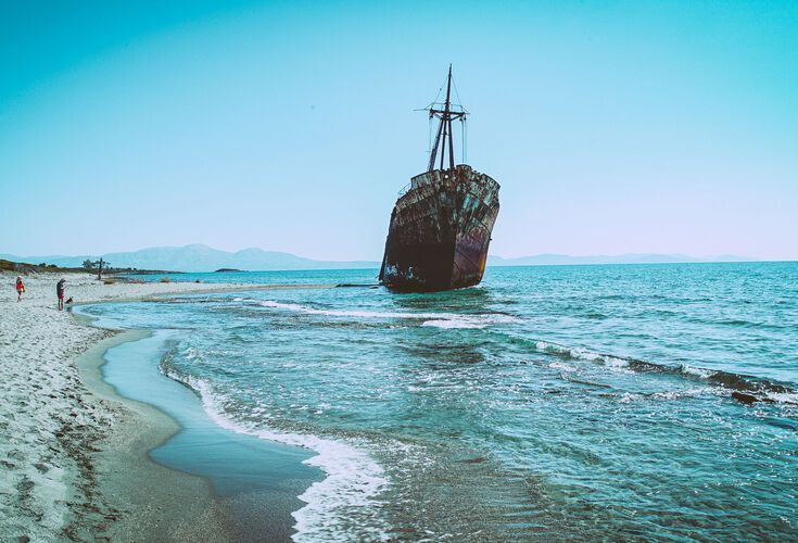 The Agios Dimitrios Shipwreck