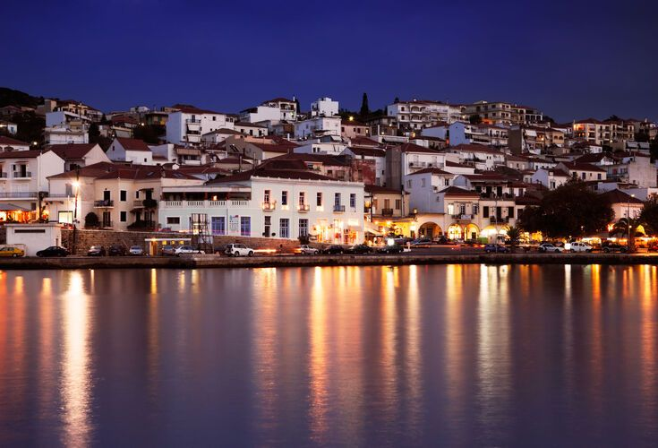 The town of Pylos