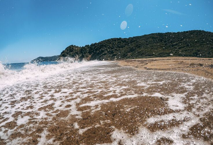 Νo day on Skiathos is complete without some beach-time