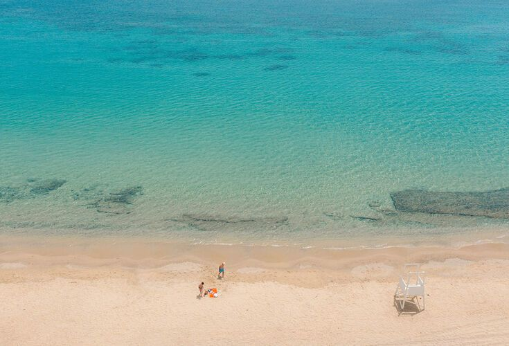 Famous for its celebrity beaches, Mykonos has another side when it comes to beach life that it keeps away from the spotlight.