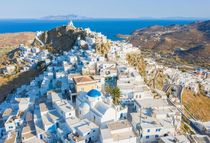 Serifos from above